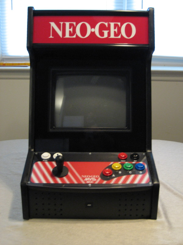 My Fall Project Neo Geo Bartop Arcade Cabinet & A Modding Home Companion: My Fall Project: Neo Geo Bartop Arcade Cabinet