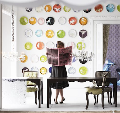 original-wall-dining-room-decoration-design-idea