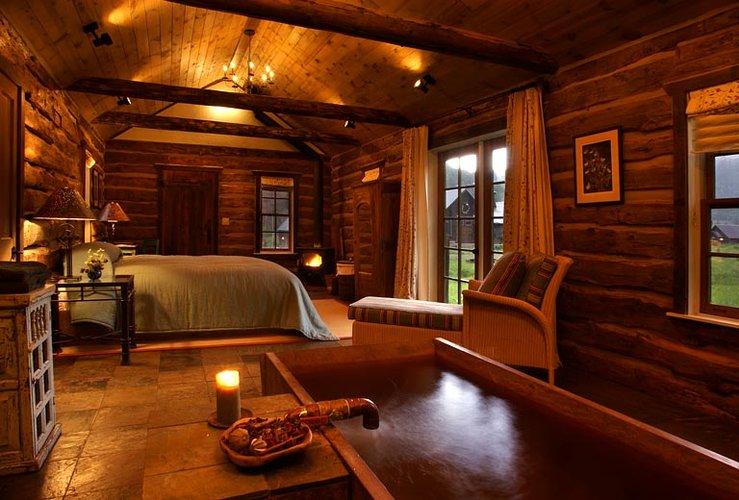 Alkemie: Rustic Log Cabin Inspiraiton from Dunton Hot Springs Colorado