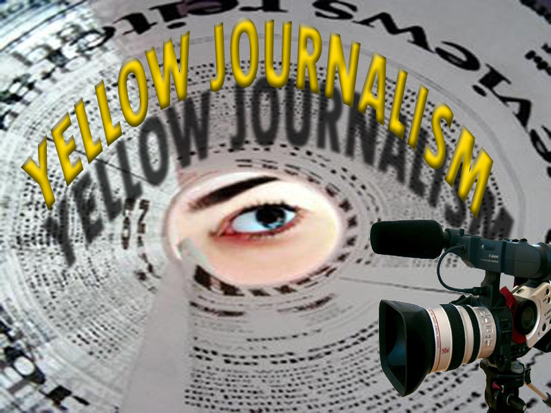 yellow press Use while discussing: yellow journalism, spanish-american war (heck, any way for that matter), modern media, william randolph hearst, joseph pulitzer, etc.