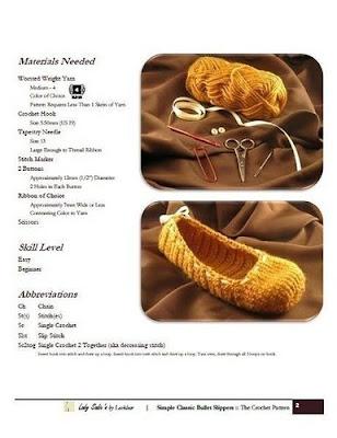 Bonitos zapatos de dama tejidos a crochet ~ Solountip.com