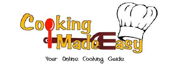 <center>Cooking Made Easy</center>