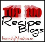 As seen on Top 100 Recipe Blogs!