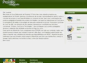Curso Proinfo Integrado Projetos - 40 h