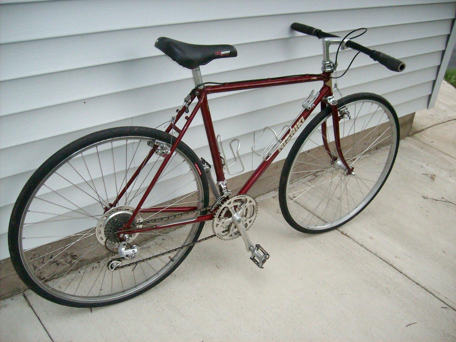 Bicycles Rule Nishiki Seral Cafe Road Bike