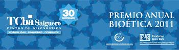 PREMIO NACIONAL A TRABAJO  DE INVESTIGACION EN   BIOETICA 2011