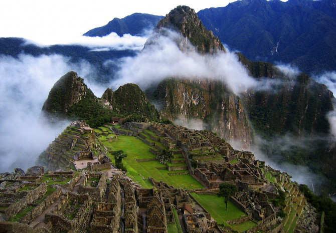 Beautiful Place Machu Picchu Peru