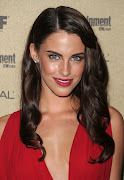 Jessica Lowndes Looks Beautiful In Red Dress