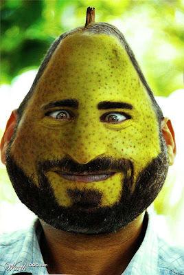 photoshop manusia buah