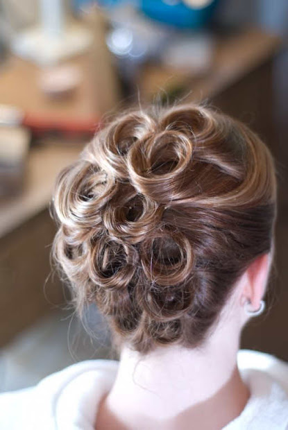 updo hairstyles girls