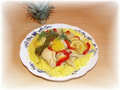Articole culinare : Pui exotic cu ananas