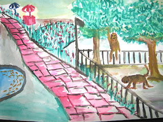 Art Drawing Competition Zoo