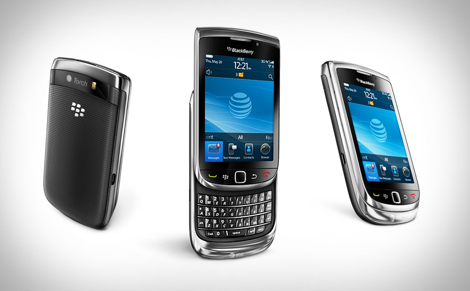 Blackberry Torch 2010. and Blackberry attempted