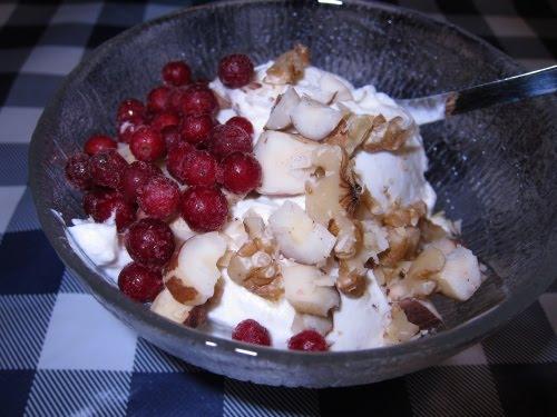 turkisk yoghurt med bär