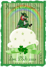 St.Patrick's Day Button from Pea