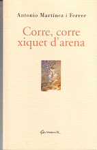 Corre, corre xiquet d&#39;arena. Clica per a llegir