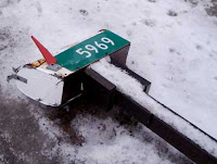 Rain... sleet... gloom of night... no matter what the time or weather, one day your mailbox or post will require replacement.