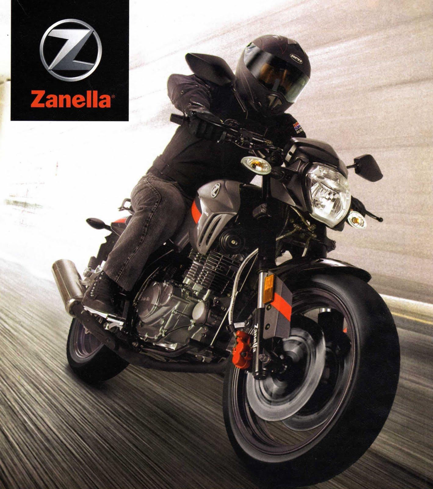 Zanella Rx 250 . Modelo 2012