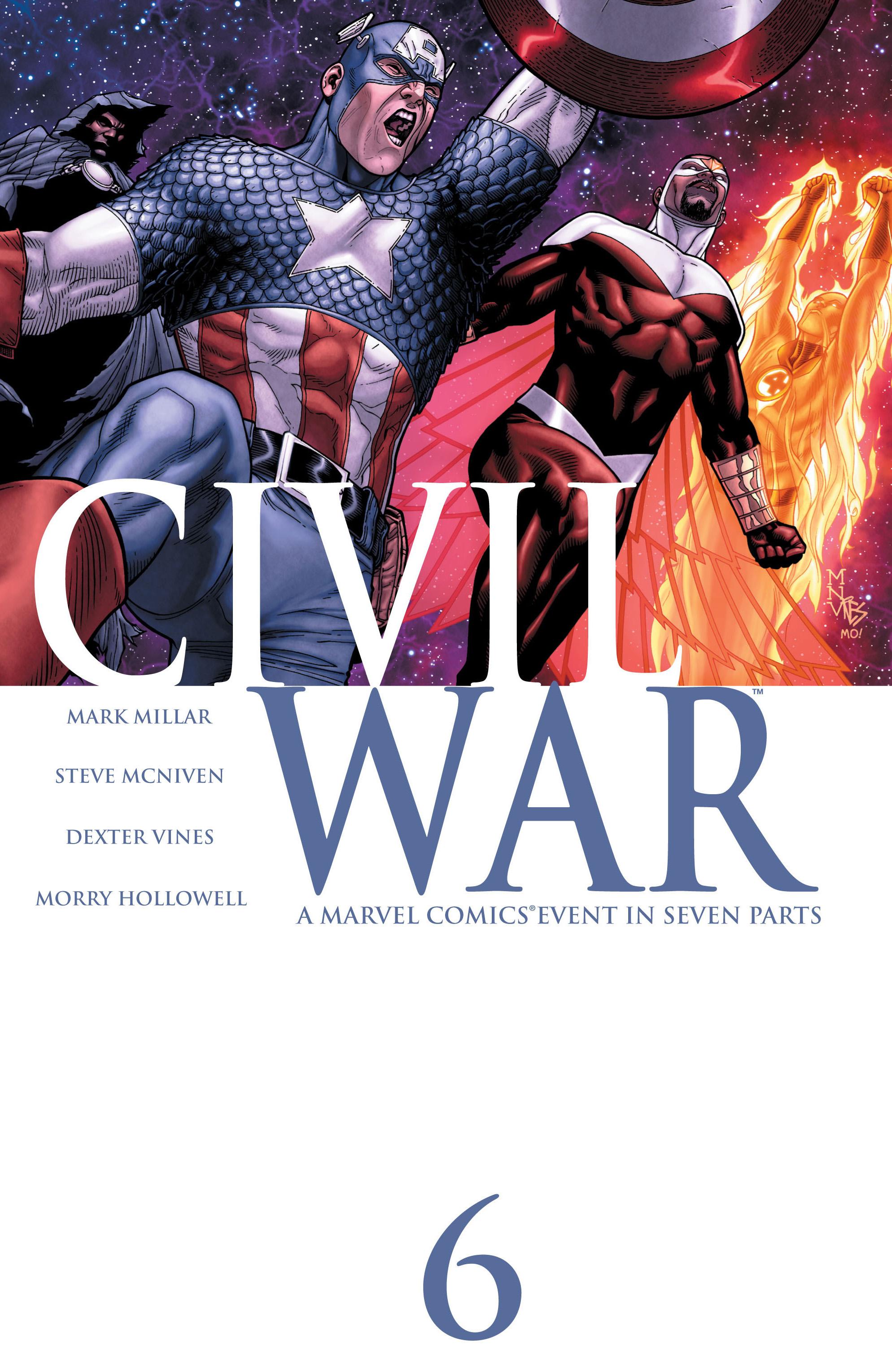 Civil War (2006) 6 Page 1