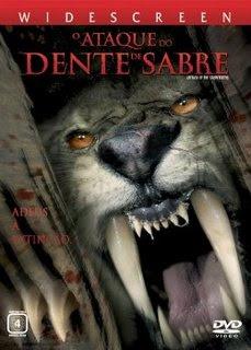 Filme Poster O Ataque do Dente de Sabre DVDRip Dual Audio