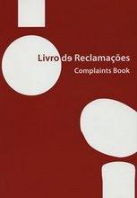 LIVRO DE RECLAMAÇÕES/SUGESTÕES
