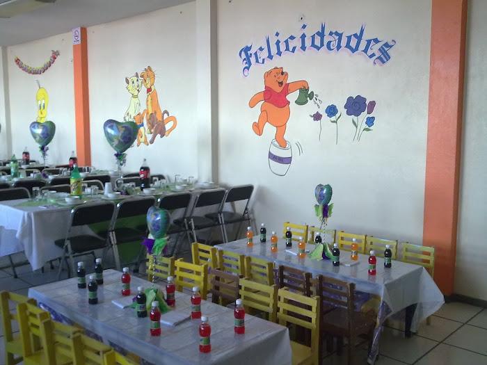 Salón de fiestas Peluchin