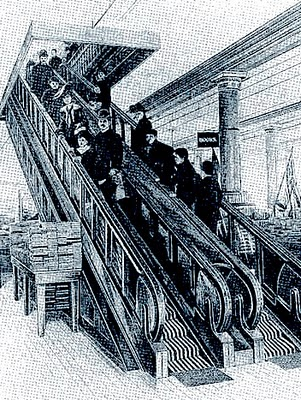 Pictures and Photos: Escalator History - Invention of the Escalator