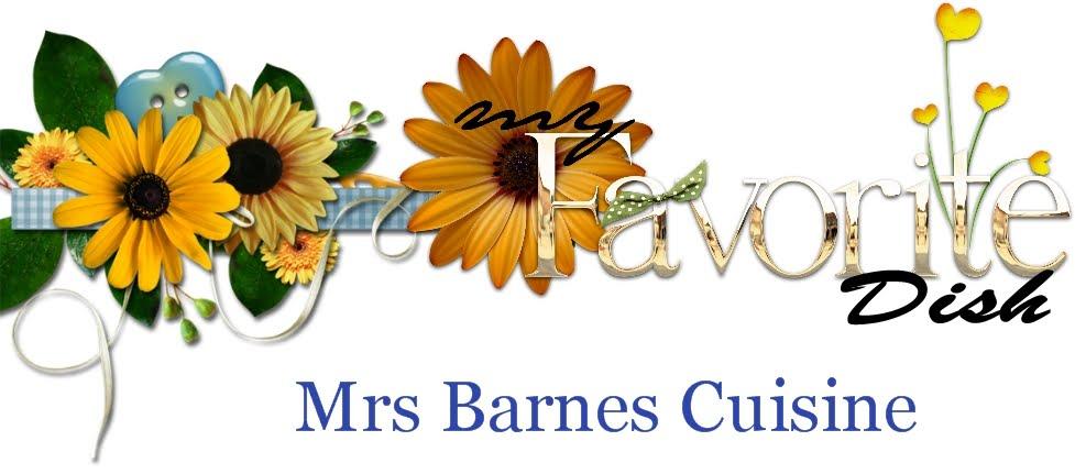 Mrs Barnes Cuisine