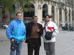 Con Günter Grass en Barcelona