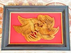ไม้ฉลุ 3 มิติภูมิใจเสนอ ไก่ชนไทย 2010