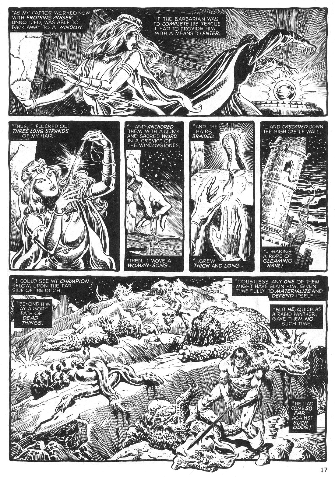 The Savage Sword Of Conan Issue #29 #30 - English 17