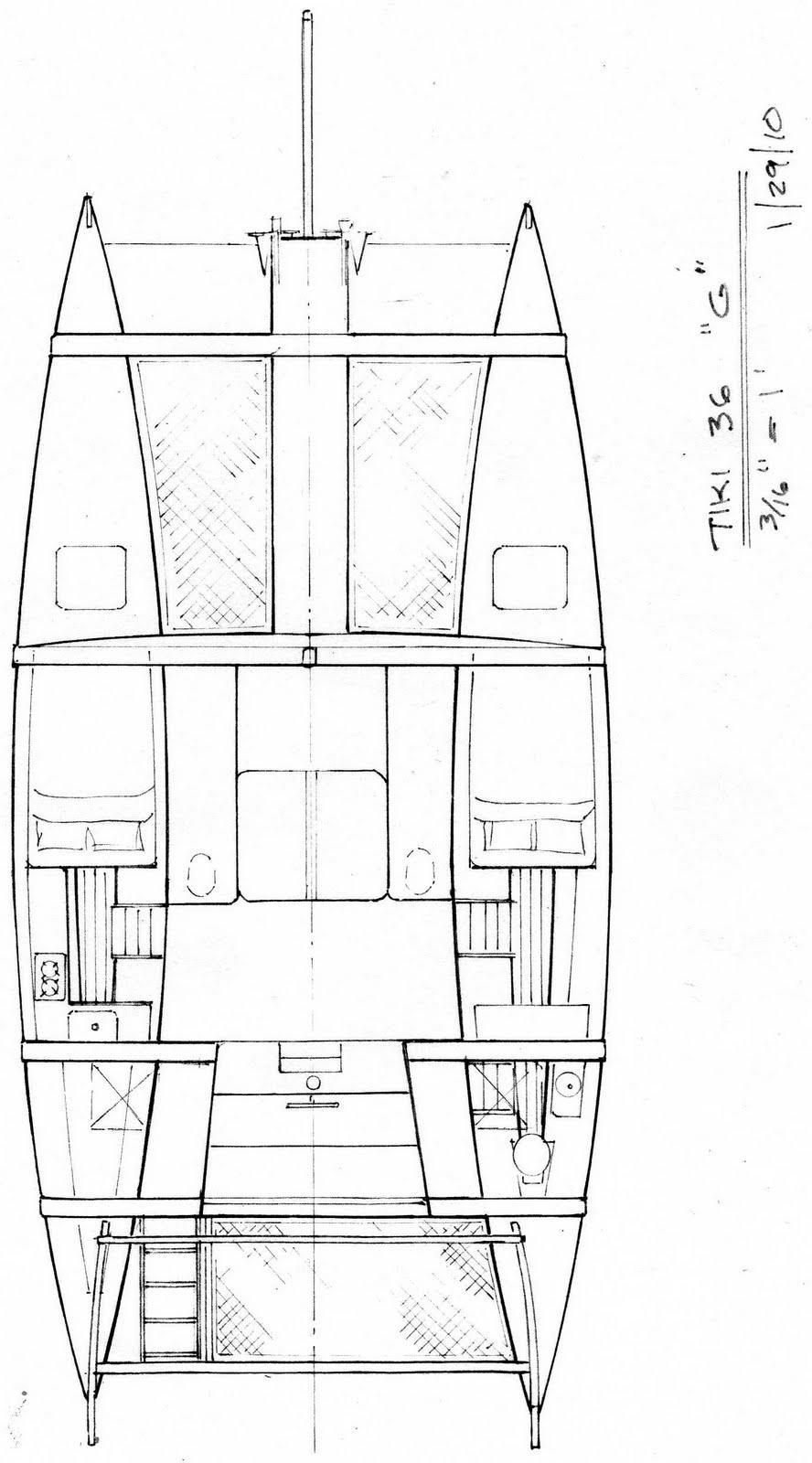 Boatsmith Shavings: James Wharram Catamaran less or more ...