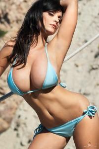 Bikini Denise Milani Green