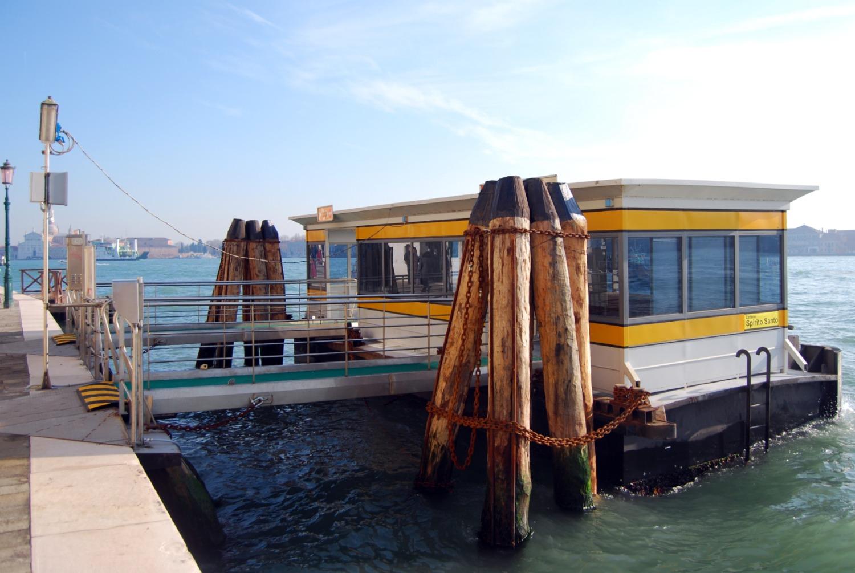 Venice Vaporetto - Zattere to Palanca -