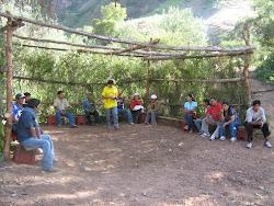 Estudiantes UNSCH en interacción cultural- SAN MIGUEL