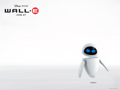 Wallpaper Eva de Wall-E