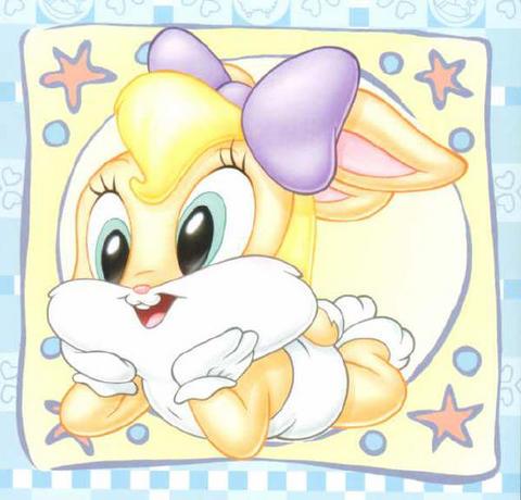 Imagen de lola bunny bebe looney tunes