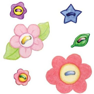 Flores pintadas; Imagenes infantiles de flores para imprimir