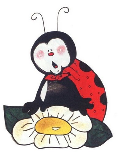 Mariquitas Infantil Vuela Con Flor Para Imprimir Mariquitas Colgada De