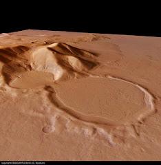 Grafica tomada por sondas de la Nassa