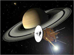 Dibujo de Satini cerca de Saturno