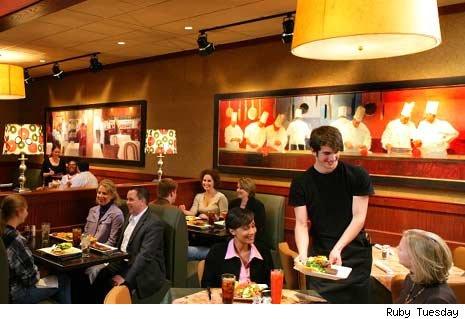 My Restaurant Experiences Ruby Tuesday 6 2