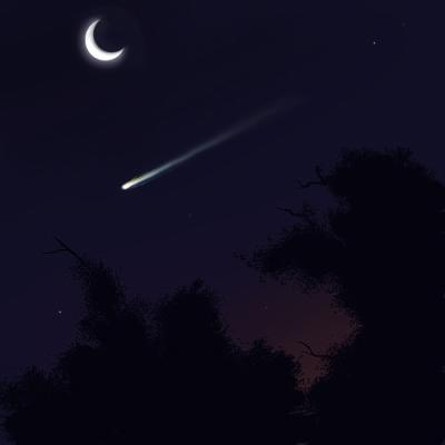 how to catch a shooting star