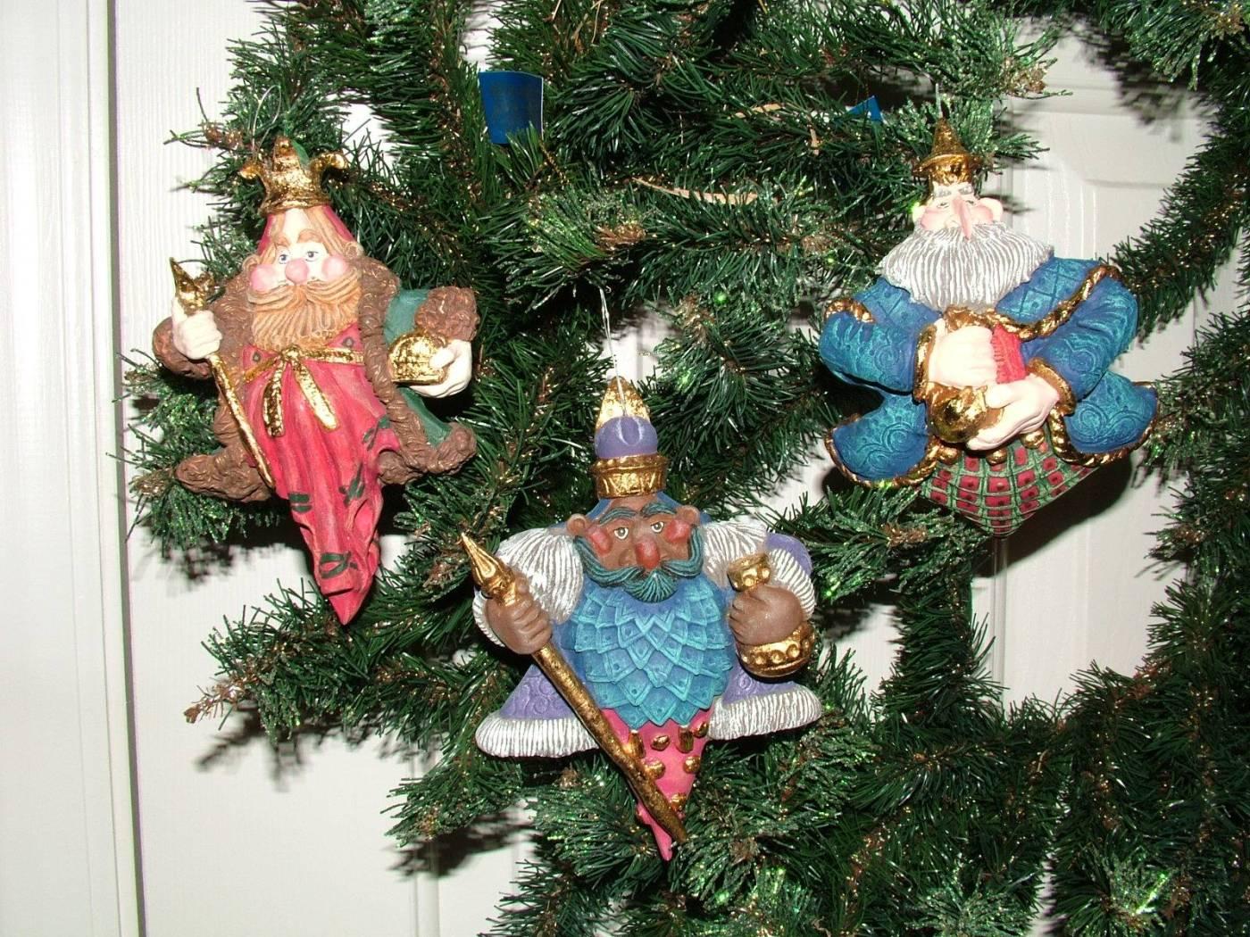 Wise Men Star Ornaments
