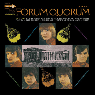 The Forum Quorum - The Forum Quorum  us 1968   Decca DL 75030 Quorum Greek