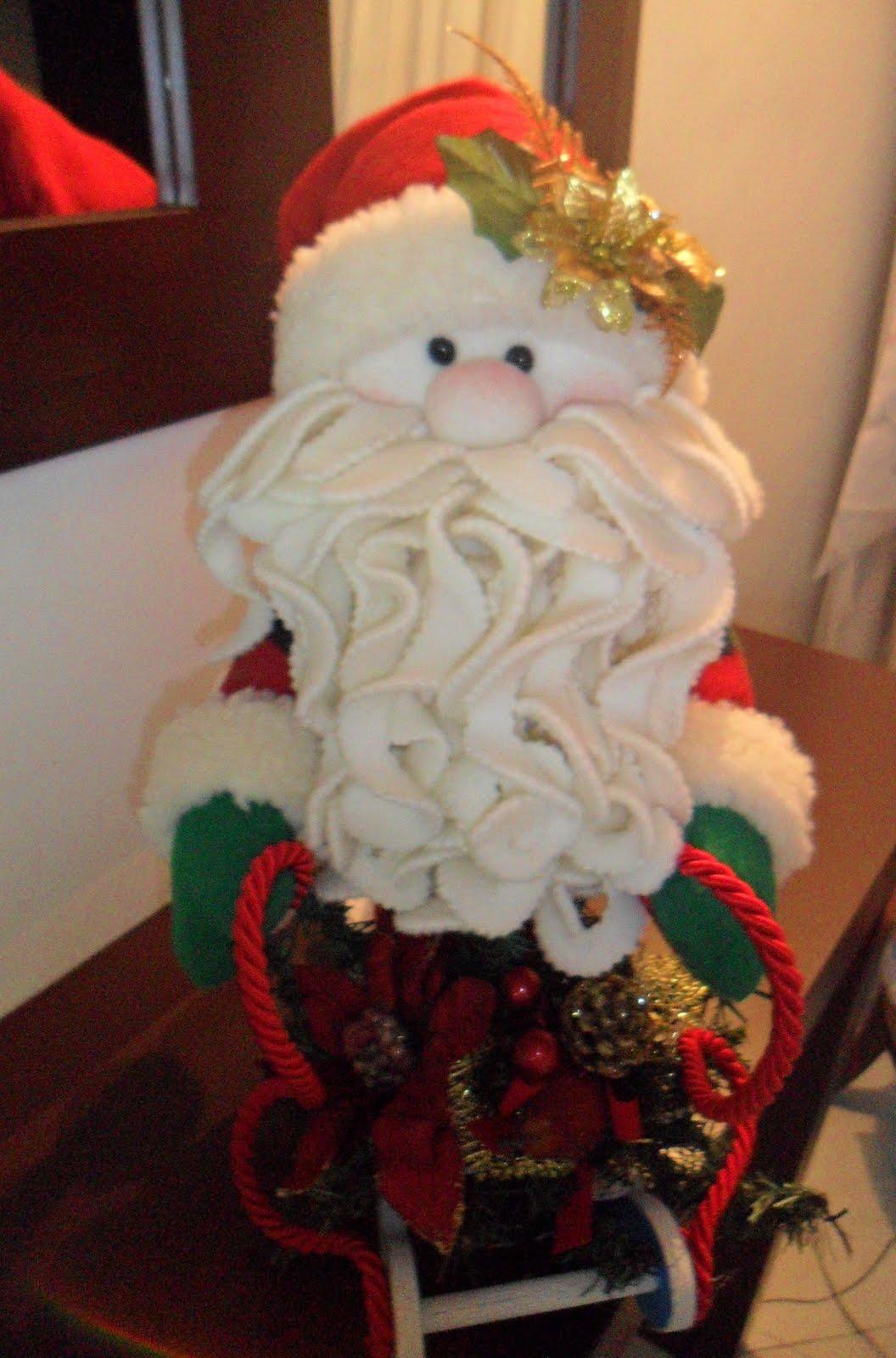 La Casa de Muñecos: Reno, ovejita, muñeco de nieve y Papá Noel