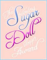 Fabulous Sugar Doll Blogger Award