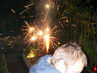 fire in the hole, fireworks exploding