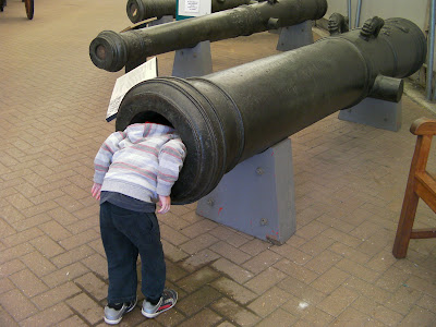 giant cannon at fort nelson royal armouries portsmouth
