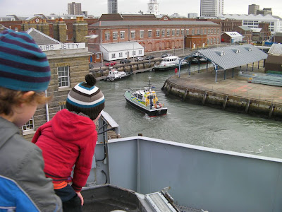 portsmouth harbour police launch